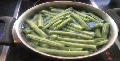 tiempo coccion judias verdes
