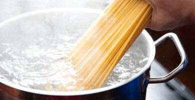 tiempo de coccion espaguetis